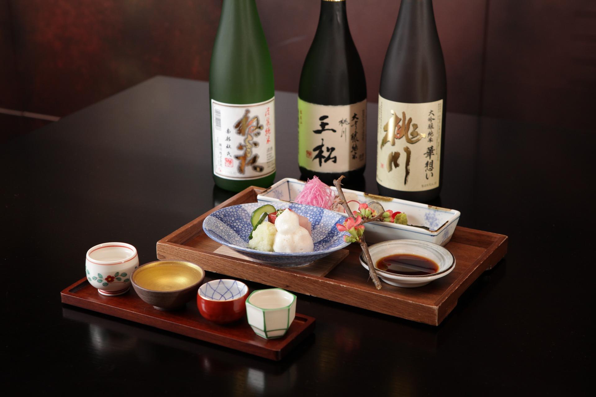 mirin and sushi